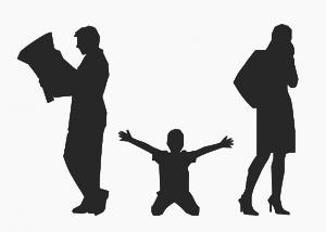 אילוסטרציה של מצב הילדים בגירושין